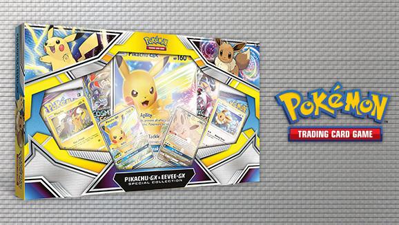 Pokemon TCG: Pikachu-GX & Eevee-GX Special Collection box