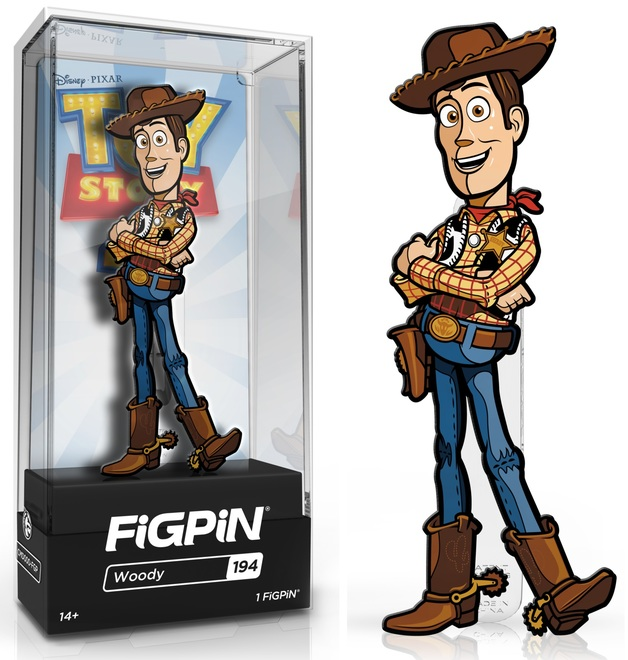 Toy Story 4: Woody (#194) - Collectors FiGPiN