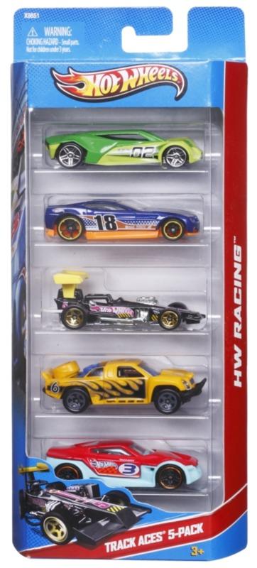 Hot Wheels: Diecast Car - 5-Pack (Assorted Designs)