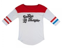 Suicide Squad Daddy's Lil Monster Raglan (Small)