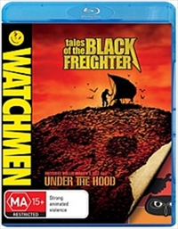 Watchmen Animated: Tales of the Black Freighter & Under the Hood on Blu-ray image