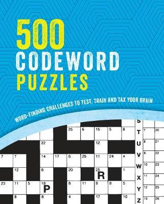 500 Codeword Puzzles by Parragon Books Ltd image