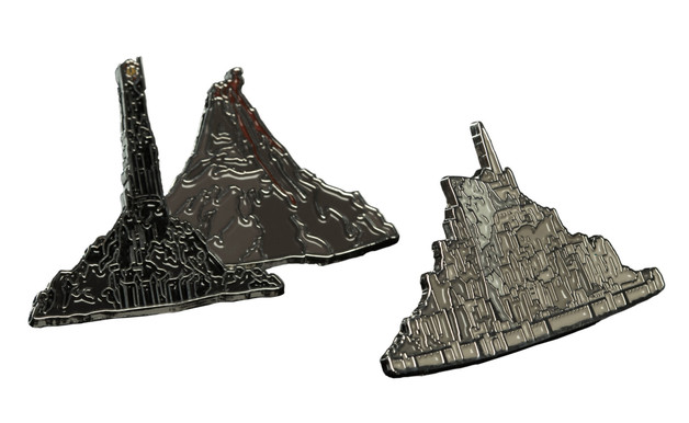 Lord of the Rings: Designer Pin Set - Minas Tirith & Barad-Dur