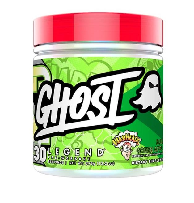 Ghost: Legend Pre-Workout - Warheads Sour Green Apple (30 Serve)