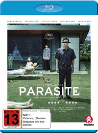 Parasite on Blu-ray