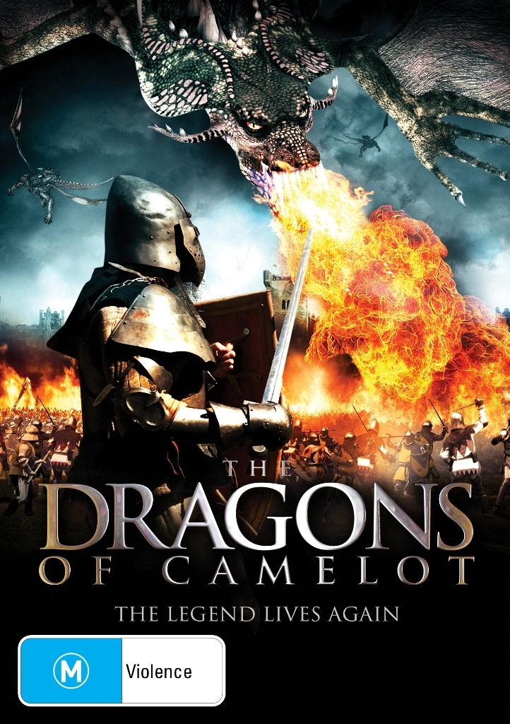 The Dragons of Camelot on DVD image