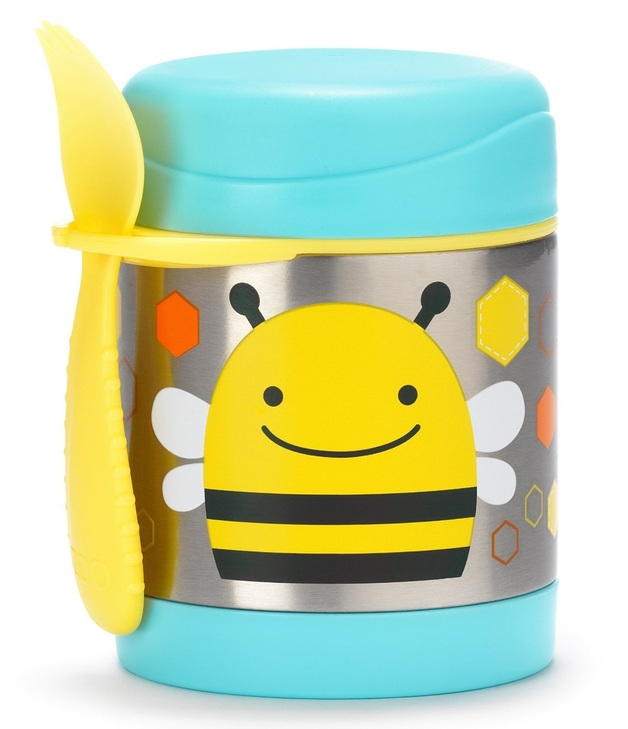 Skip Hop: Zoo Insulated Food Jar - Bee