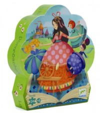 Djeco: Silhouette Puzzle - Sleeping Beauty