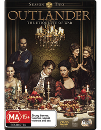 Outlander - The Complete Second Season on DVD