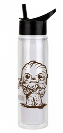 Star Wars: Chewbacca with Porg - Pop! Water Bottle (591ml)