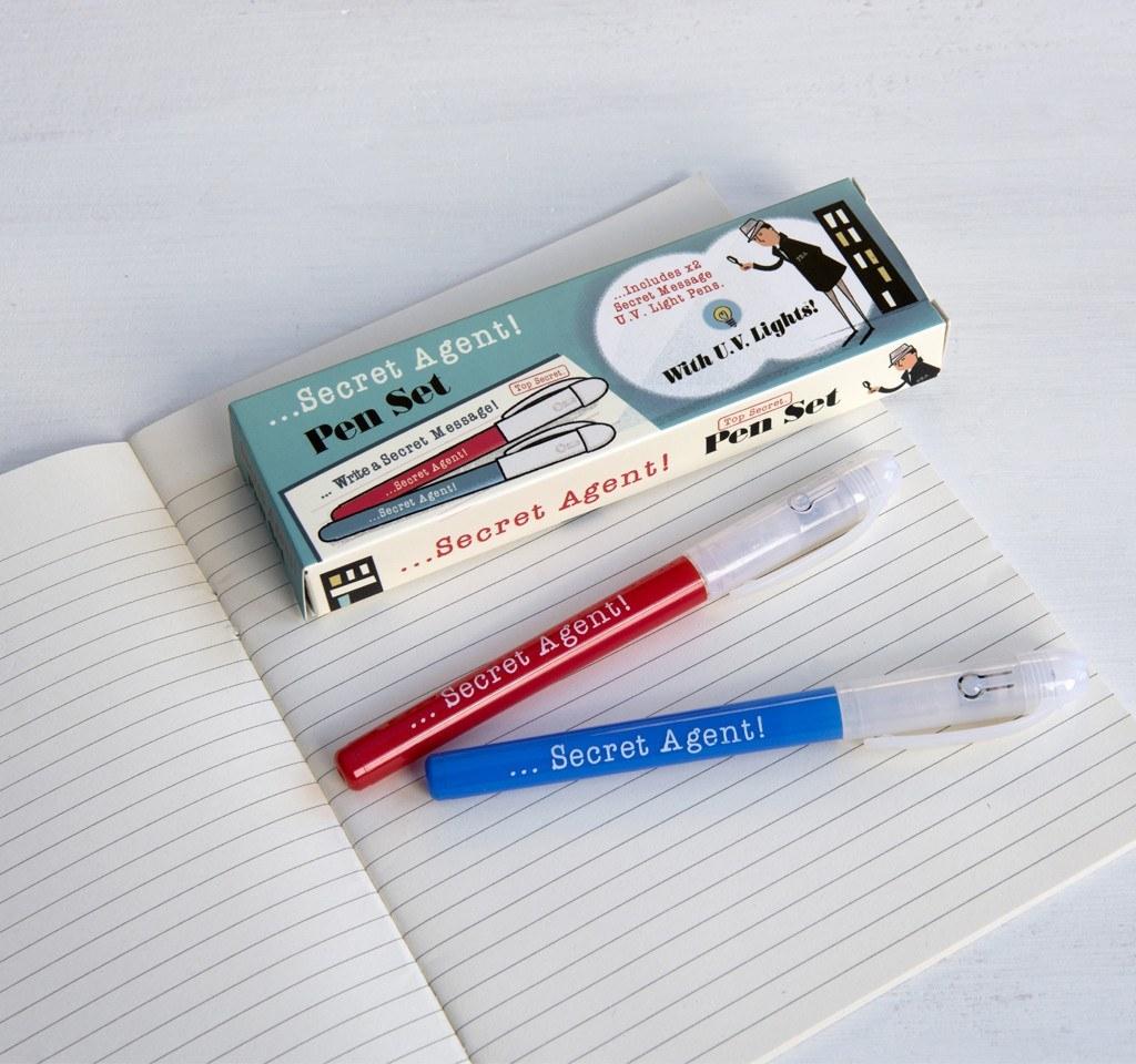 Secret Agent - Spy Pens (Set of 2) image