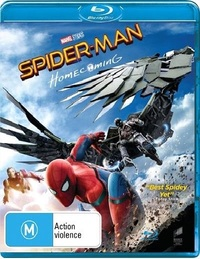 Spider-Man: Homecoming on Blu-ray image