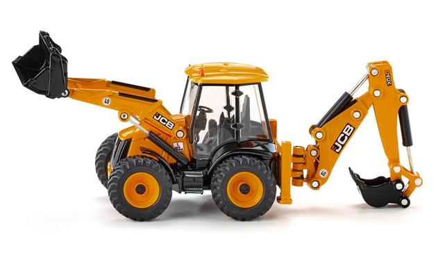 Siku: JCB 4CX Backhoe Loader - Diecast Vehicle