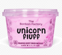 The Bonbon Factory Body Wash & Shave Mousse (Unicorn Fluff)