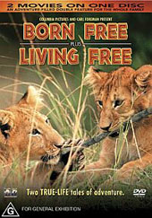 Born Free And Living Free - Double Feature on DVD