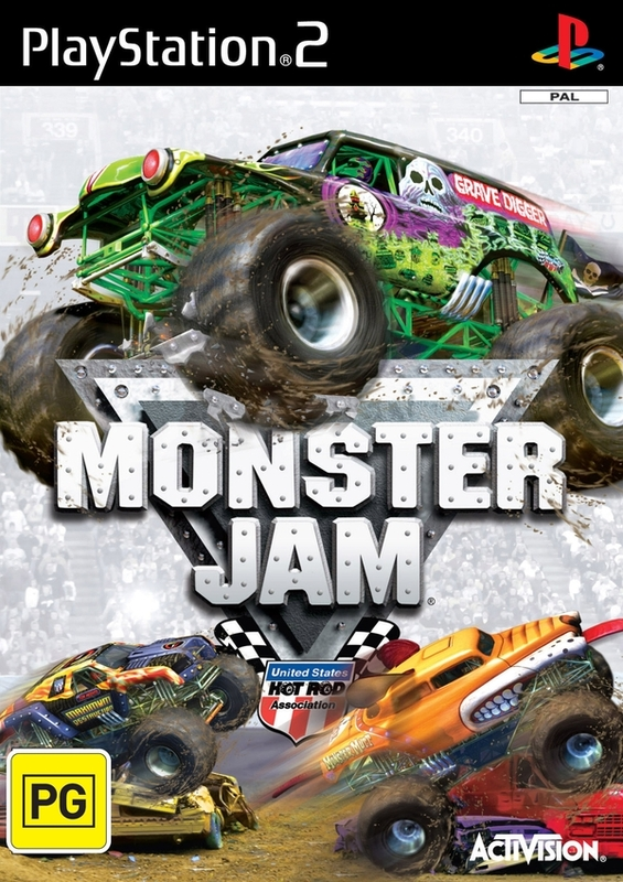 Monster Jam for PlayStation 2