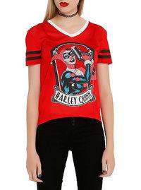 DC Comics Harley Quinn Mesh Hi/Lo Top (Small)