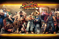 Street Fighter Poster - Street Fighter Characters (526)
