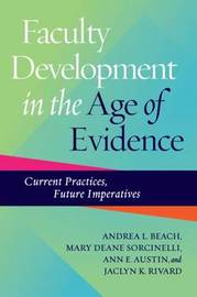 Faculty Development in the Age of Evidence by Andrea L. Beach image