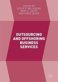 Outsourcing and Offshoring Business Services