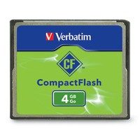 Verbatim CompactFlash Card - 4GB