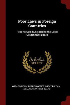 Poor Laws in Foreign Countries