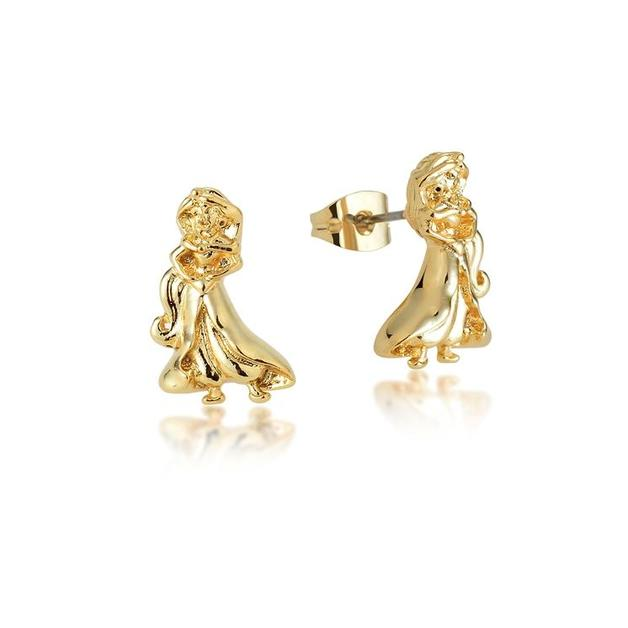 Couture Kingdom: Disney Princess Jasmine Stud Earrings - Gold