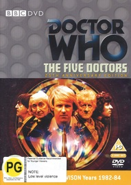 Doctor Who: The Five Doctors (25th Anniversary Edition) on DVD