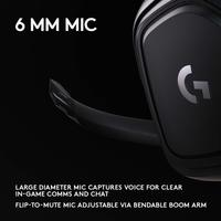 Logitech G432 7.1 Surround Sound Wired Gaming Headset for PC image