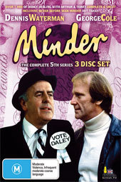 Minder - Complete Series 5 (3 Disc Box Set) on DVD