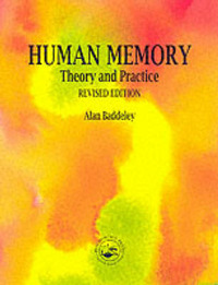 Human Memory: Theory and Practice by Alan D Baddeley image