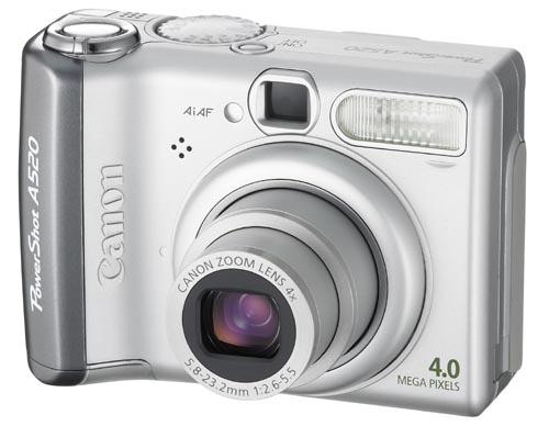 Canon Digital Camera Powershot 4MP A520 image