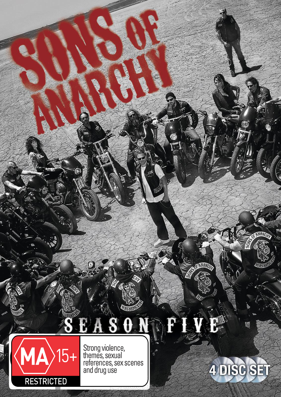 Sons of Anarchy - Season 5 on DVD image