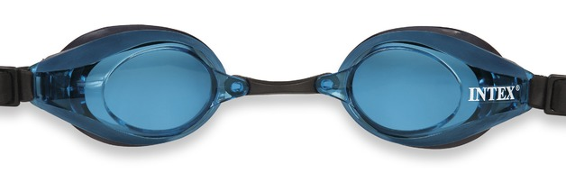 Intex: Racing Swim Goggles - Blue