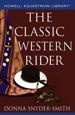 The Classic Western Rider by Donna Snyder-Smith