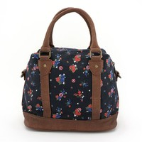 Loungefly Marvel Captain America Floral Crossbody Bag image