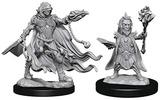 Pathfinder Deep Cuts: Unpainted Miniature Figures - Evil Wizards