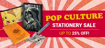 Pop Culture Stationery On Sale!