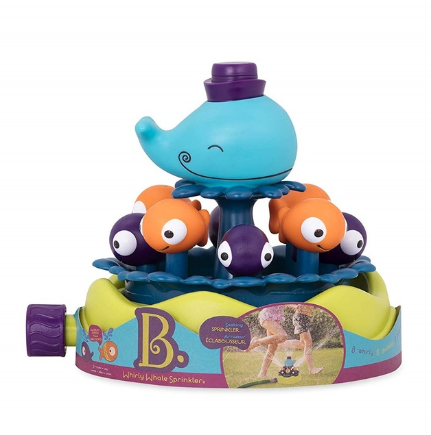 B. Whirly Whale Sprinkler - Water Toy