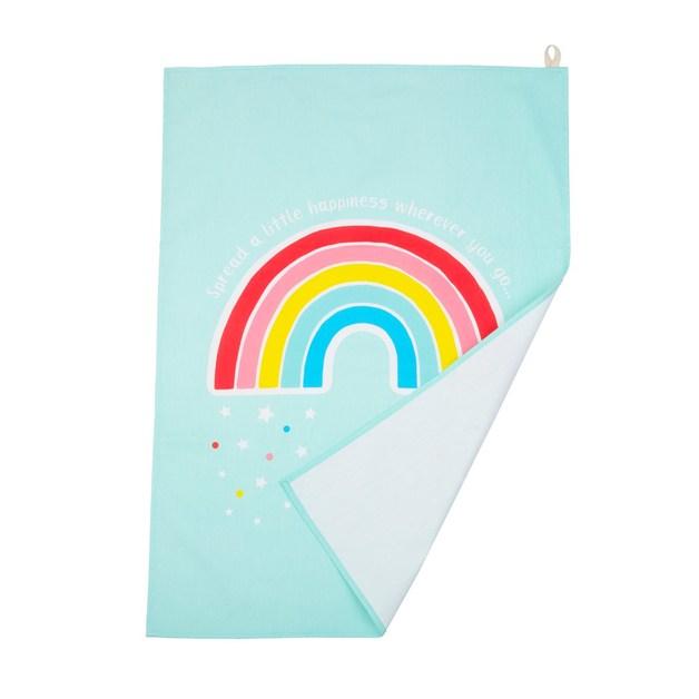 Chasing Rainbows Tea Towel