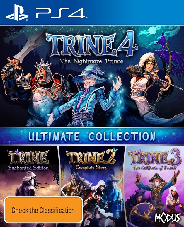 Trine Ultimate Collection for PS4