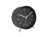 Karlsson Lofty Alarm Clock - Black image
