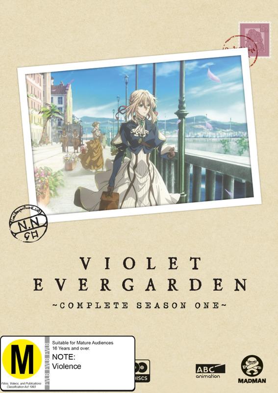 Violet Evergarden: The Complete Season 1 on DVD