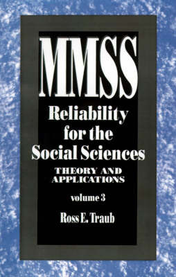Reliability for the Social Sciences by Ross E. Traub image