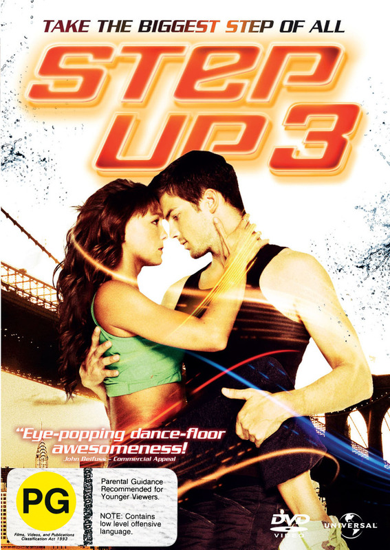 Step Up 3 on DVD