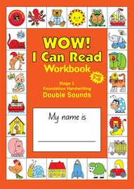 Learning Can Be Fun - A4 Wow I Can Read - Stage 3: Double Sounds
