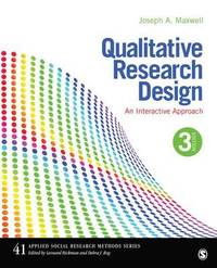 Qualitative Research Design by Joseph A. Maxwell