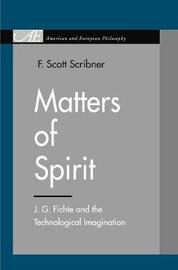 Matters of Spirit by F.Scott Scribner image