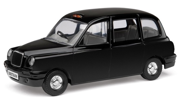 Corgi: Best of British: Taxi - Diecast Model