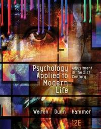 Psychology Applied to Modern Life by Elizabeth Hammer